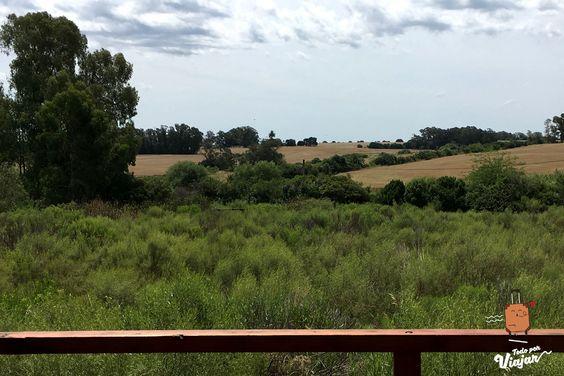 Vista panorámica de la cabaña en Colonia del Sacramento