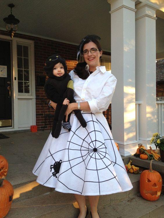 My Diy Spider Web Skirt And Spider Hair Fascinator