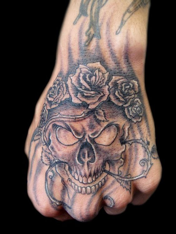 100 awesome skull tattoo designs small skull coolest tattoo and inspiration. Black Bedroom Furniture Sets. Home Design Ideas