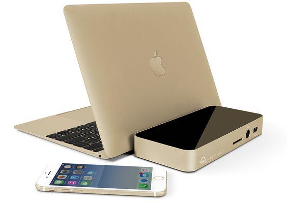USB-C Dock Gold