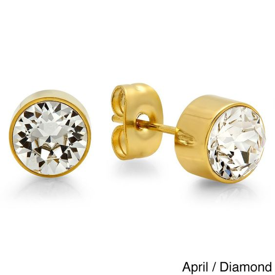 Swarovski Elements Birthstone Earrings