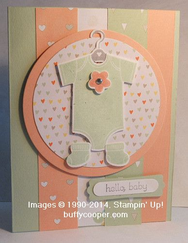 Something for Baby, Baby's First, Stampin' Up!