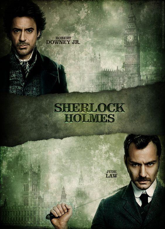 Sherlock Holmes Movie Poster by ~beyondwonderwall on deviantART