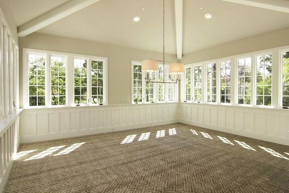 Suzie Sunroom With Vaulted Ceiling Crisp White Board And
