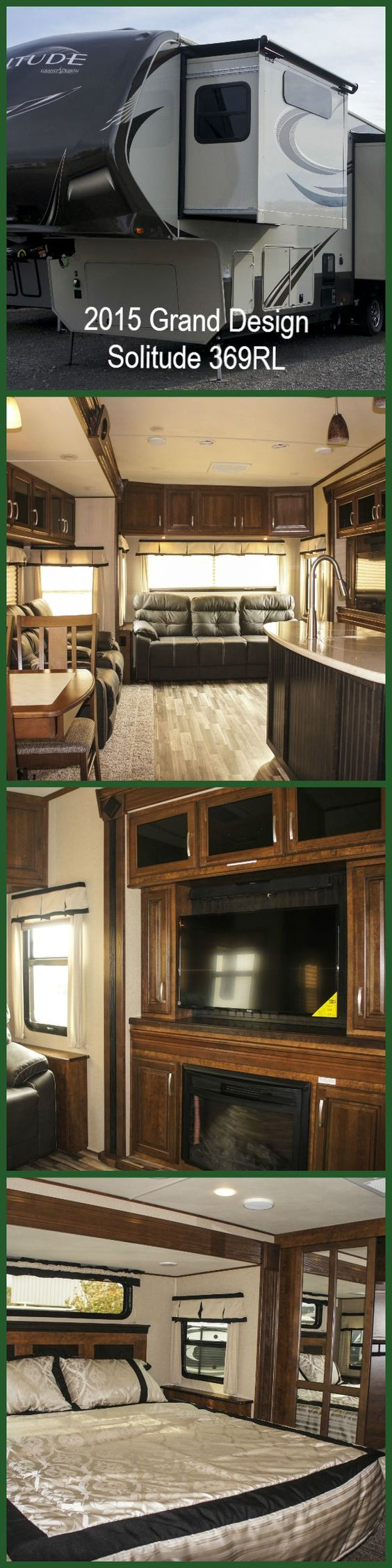 Here's a glimpse our first Grand Design fifth wheel! Click to see all pictures.