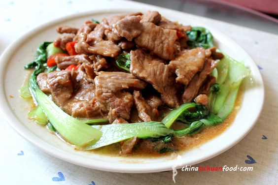 Beef with Shacha Sauce
