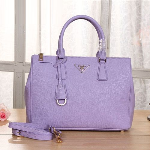 prada zip wallet black - Prada BN2274 Original Grainy Leather Tote Bag Lavender | fashion ...