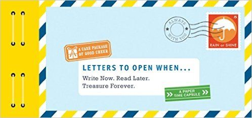 Letters to Open When...: Write Now. Read Later. Treasure Forever. (Letters to My): Lea Redmond: 9781452148724: Amazon.com: Books
