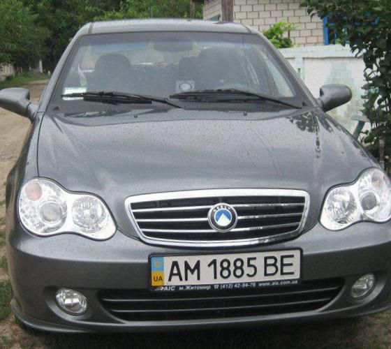 Geely CK-2 tuning - http://autotras.com
