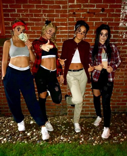 4 People Halloween Costumes.Pin On Group Halloween Costumes