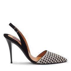 Houndstooth Haircalf Cece Pump - Ralph Lauren Shoes - Ralph Lauren Germany