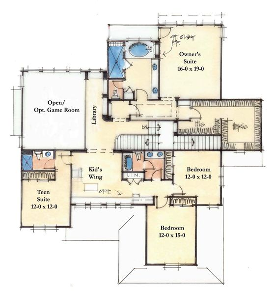 4200 sq ft second large homes pinterest for 4200 sq ft house plans