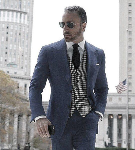 90 Navy Blue Suit Styles For Men , Dapper Male Fashion Ideas