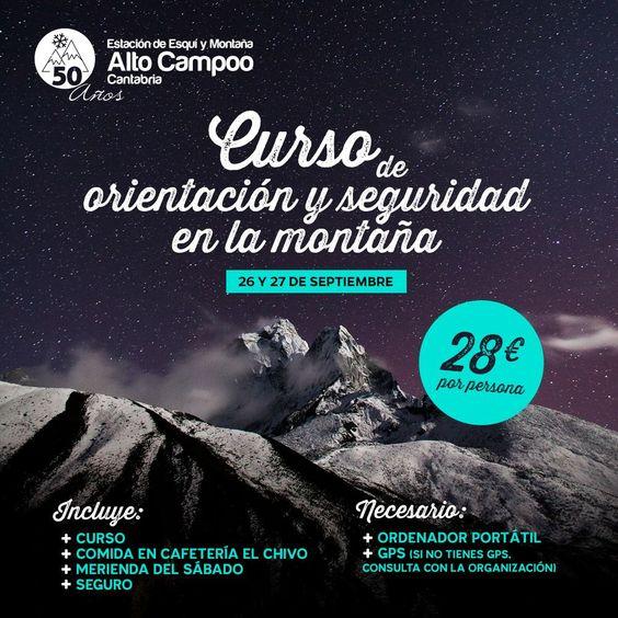 Curso de orientación y seguridad en la montaña - Turismo de Cantabria - Portal Oficial de Turismo de Cantabria - Cantabria - España
