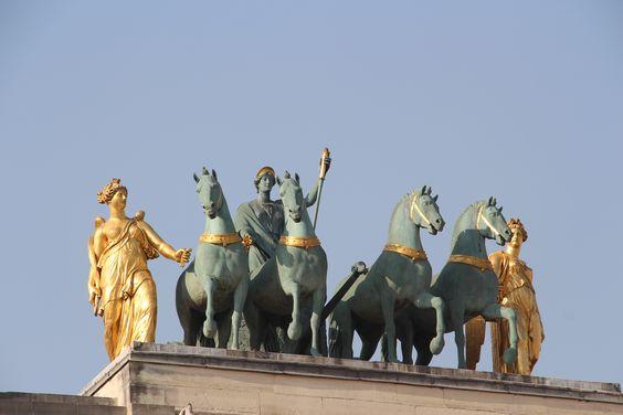 Carrousel du Louvre, détail