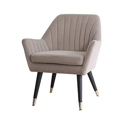 Egclj Mini Small Sofa Single Lazy Couch Chair Soft Velvet Armchair With Solid Wooden Legs For Living Room Bedroom Recept Small Sofa Single Sofa Couch Chair