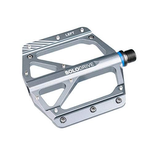 Titanium Road MTB Mountain Bike Bicycle sealed Bearings Pedals flat Pedal 196g