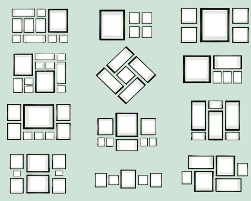 A falta de un objeto decorativo de magnitud suficiente para crear un punto focal, agrupa...   10 trucos de decoración