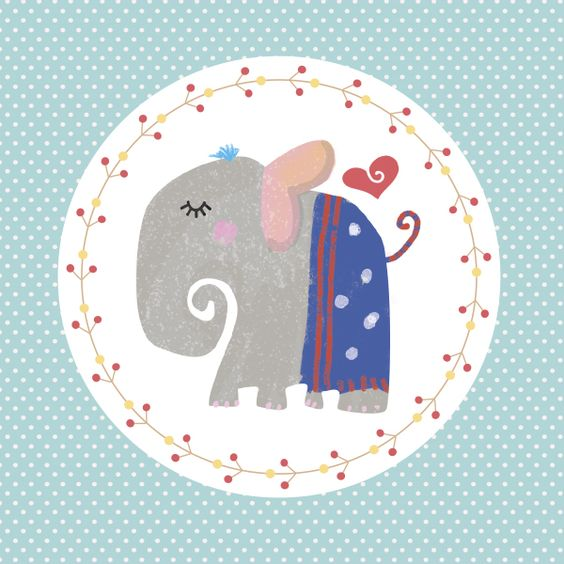 Let's Create Together: An Elephant never forgets