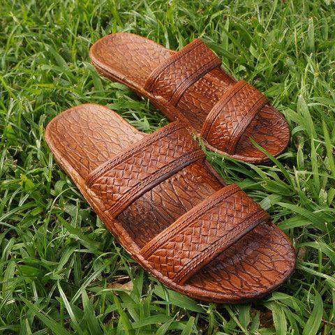 Light Brown Classic Jandals 174 Pali Hawaii Sandals I