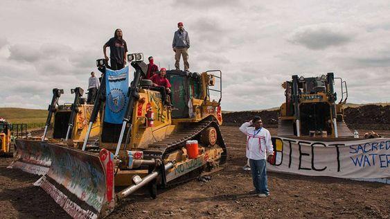 Rebelión sioux contra un oleoducto en Estados Unidos   Estados Unidos   EL PAÍS