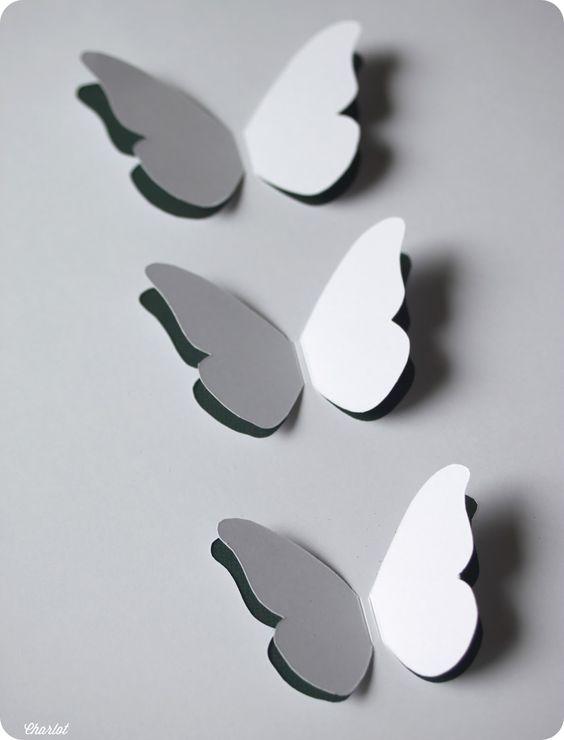 diy tutoriel du cadre papillons et puis la neige elle est trop molle papillon cadre. Black Bedroom Furniture Sets. Home Design Ideas