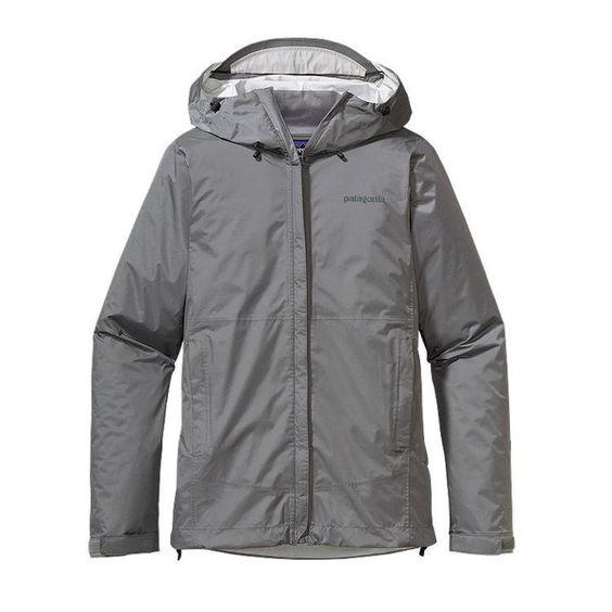 { rainy day blues } Patagonia Women's Torrentshell Jacket - Feather Grey #apexoutfitter