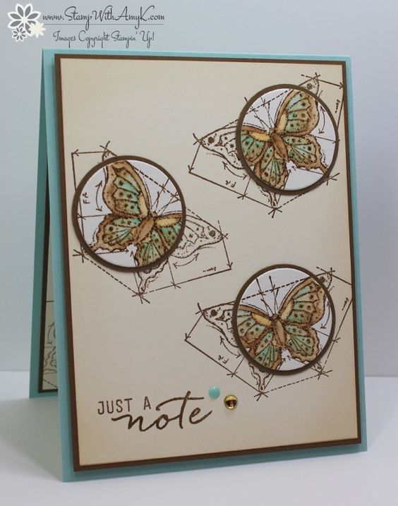 JUNE 24, 2016 BY STAMPWITHAMYK Stampin' Up! In This World for the Totally Techniques BlogHop   This is my second post for the day, if you're looking for my Swirly Bird card for Fab Friday, please click here to to right to it. I used the Stampin' Up! In This Worldstamp set to create my card for the monthly Totally Techniques blog hop. This month we're focusing on the spotlight technique.  Here is my card: