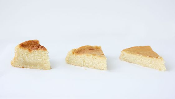 How changing a cake pan size affects the resulting cake. Size matters.