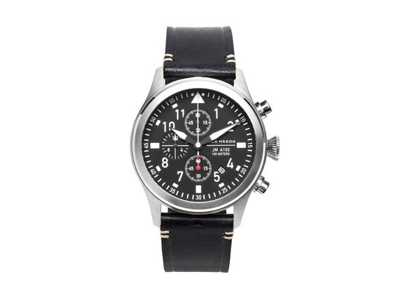 Jack Mason Brand JM-A102-015 Aviator Chronograph Watch