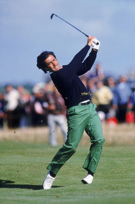 Seve - striking one through the covers