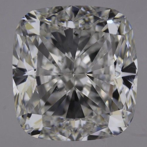 3.02 Carat F Color Cushion Diamond, SI1, GIA Certified from Enchanted Diamonds