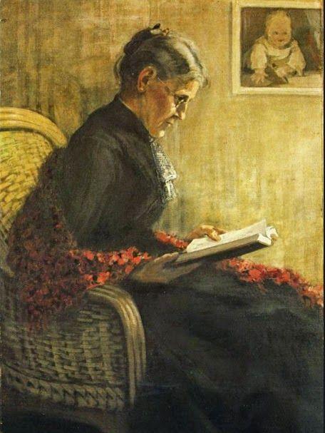 Ф. Марк. Портрет матери (1902)