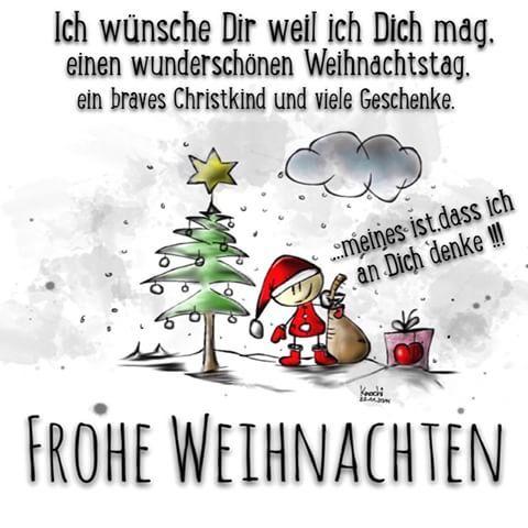 Frohe Weihnachten Spruch
