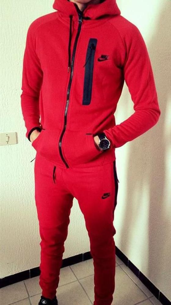 jumpsuit,nike,red,black,menswear,beautiful,jogging set,nike