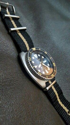 Seiko Turtle Reissue SRP775 on NATO | My Watches ...