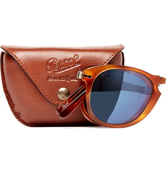 Steve McQueen Folding Sunglasses, by Persol