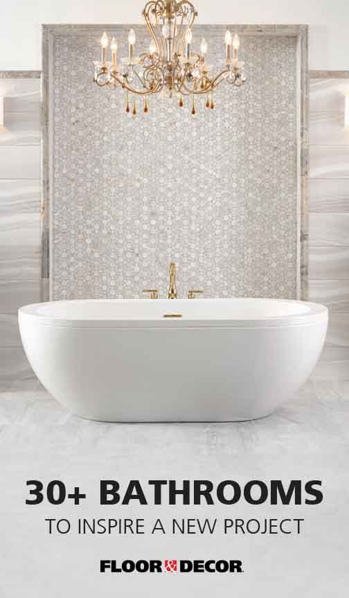Finding Just The Right Look For Your Bathroom Is Easy When You Shop At Floor Decor The Tiles Bathroom Remodel Shower Bathroom Design Bathrooms Remodel Floor and decor bathroom design
