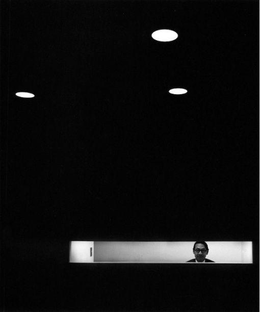 (c)Arnold Newman I.M. Pei, New York, NY, 1967:
