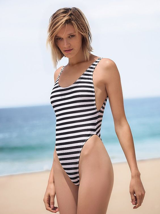 GNASH Swim High Cut One Piece at Free People Clothing Boutique