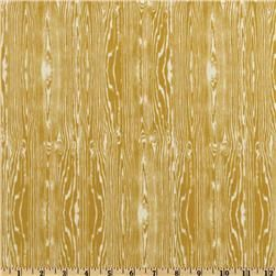 Aviary 2 Woodgrain Vintage Yellow, Fabric.com, $8.98/yd