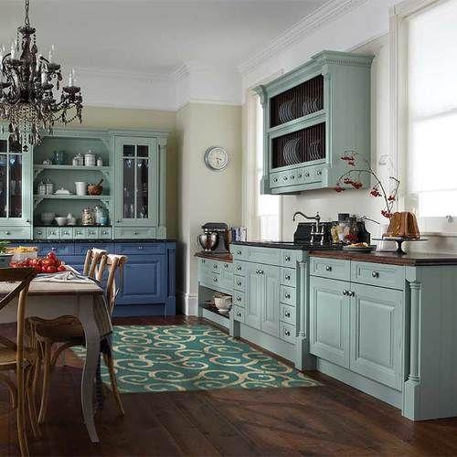 Ocean Vinyl Vintage Kitchen Cabinets Kitchen Cabinet Colors Small Apartment Kitchen