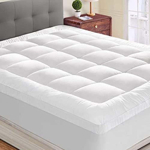 New Hyleory Queen Mattress Topper Extra Thick Stretches 8 21 Deep
