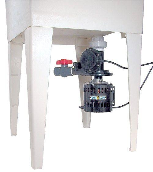 Bur Cam Pumps 300514w 33 Hp Automatic Laundry Tub Pump 0