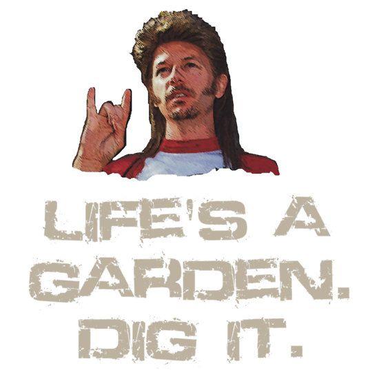 Joe Dirt Life 39 S A Garden Dig It Want From Redbubble Pinterest Gardens Joe Dirt And Life
