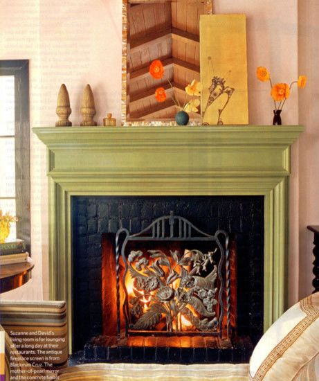 """""""painted Fireplace"""" Design, Pictures, Remodel, Decor and Ideas"""