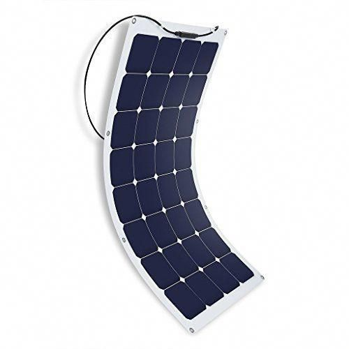 Suaoki 100w 18v 12v Solar Panel Charger Sunpower Cell Ultra Thin Flexible With M In 2020 Solar Panels Solar Panel Charger Rv Solar Panels