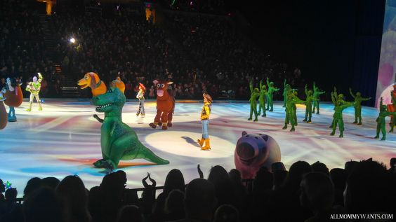 nice We Went To Disney on Ice: Worlds of Enchantment and It Was... Enchanting!