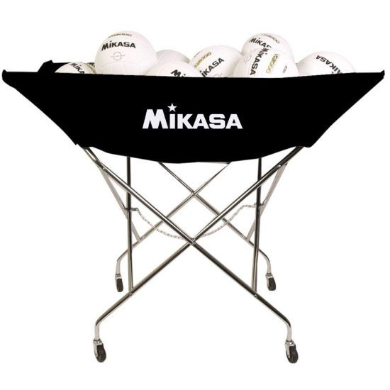 Mikasa Hammock Ball Cart Volleyball Training Equipment Mikasa Hammock