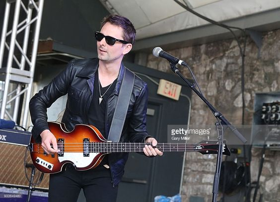 Matt Bellamy performs in concert with Dr. Pepper's Jaded Hearts Club Band suring South By Southwest at The Feedback House on March 15, 2018 in Austin, Texas.  (Photo by Gary Miller/Getty Images)